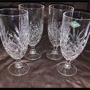 Shannon Crystal Design of Ireland Tea Glasses